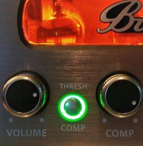 Bugera compression button
