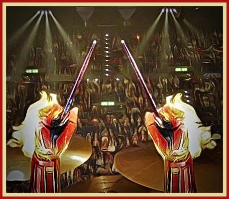 MARVELous Drummer & Audience CARTOONED !