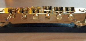 Guitar bridge screws
