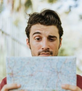 confused map-reader