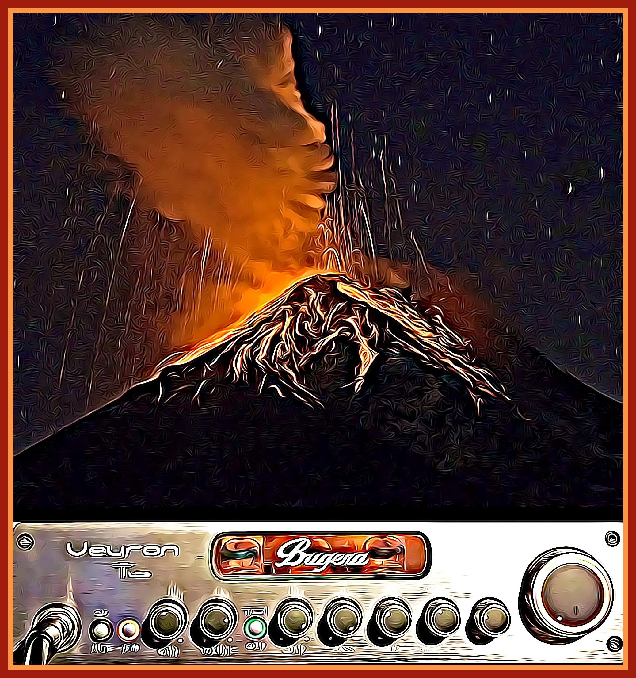 my Bugera amp CARTOONED