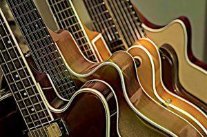 Buncha guitars CARTOONED