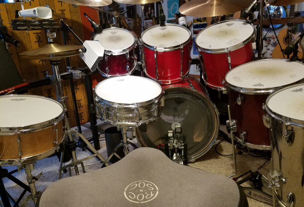 Full Kit with Supraphonic snare