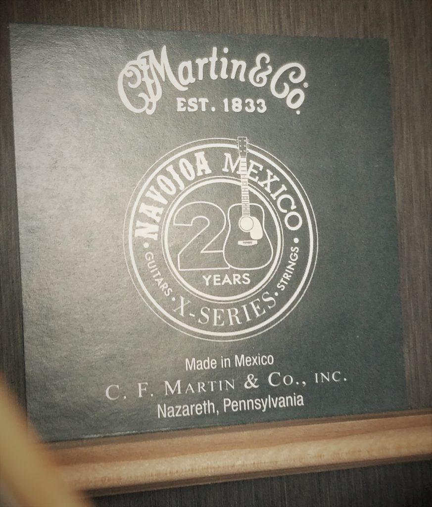 Martin inner badge