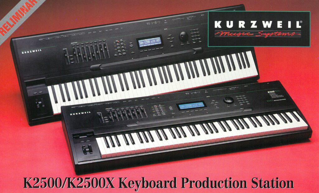 k2500, k2500x keyboard